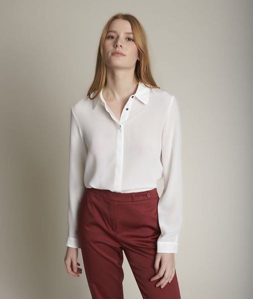 Picture of MAELLE SILK SHIRT
