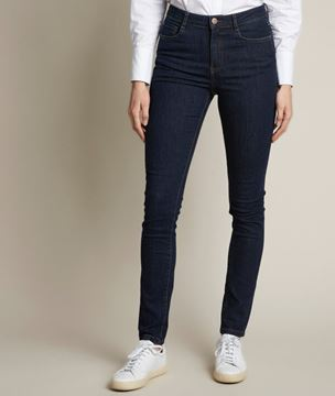 Picture of SUZY, THE ICONIC SLIM-FIT RAW USED JEANS