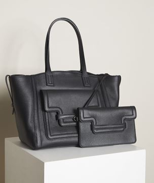 Picture of THE NUMÉRO 3 BLACK  ICONIC BAG