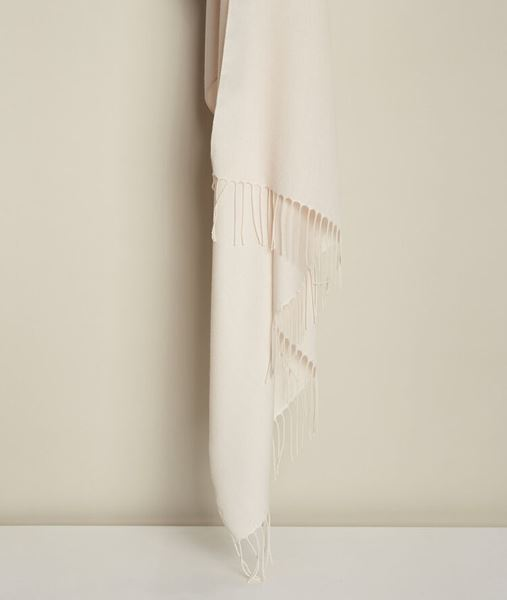 Picture of FOSSETTE NUDE FRINGED SCARF