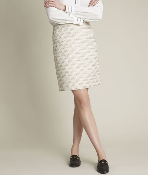Picture of BRITTANY SHORT TWEED SKIRT