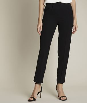 Picture of ISAURE STRAIGHT LEG CRÊPE TROUSERS