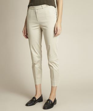 Picture of RUBIS BEIGE CIGARETTE TROUSERS