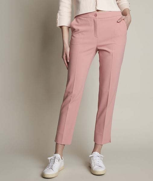 Picture of SUZANNE MICROFIBRE CIGARETTE TROUSERS