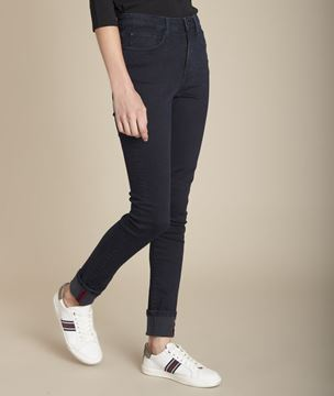 Picture of SUZY, THE ICONIC BLUE-BLACK SLIM-FIT JEANS
