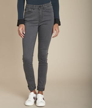 Picture of SUZY MID-GREY SLIM JEANS