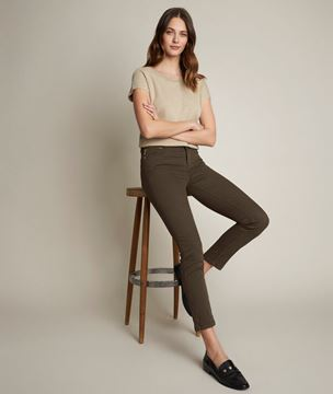 Picture of SUZY, THE ICONIC KHAKI SLIM JEANS