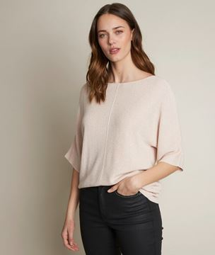 Picture of DIANE SPARKLY NUDE PULLOVER