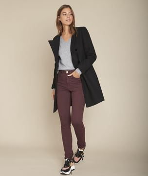 Picture of SALIMA, THE ICONIC EBONY SLIM-FIT JEANS