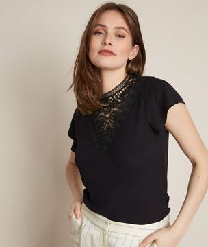 Picture of ROMANCE LACE T-SHIRT
