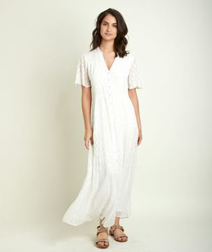 Picture of COARA LUREX MAXI DRESS