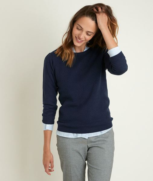 Picture of RIMEL INDIGO HONEYCOMB PULLOVER