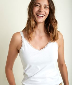 Picture of ROSA WHITE TANK TOP