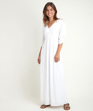 Picture of CLAUDETTE STRAIGHT MAXI DRESS