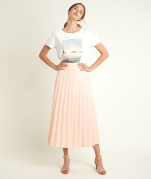 Picture of GEMA PLEATED MAXI SKIRT
