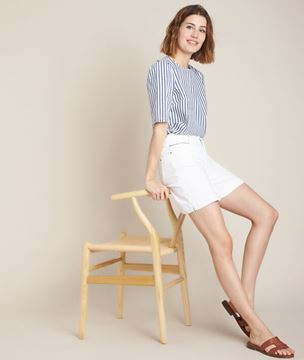 Picture of ENORA STRIPED BLOUSE