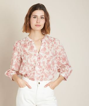Picture of ENRY PRINTED BLOUSE