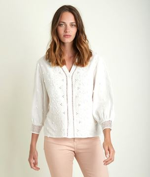 Picture of JIKORO EMBROIDERED BLOUSE