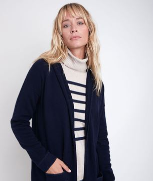 Picture of RUTH LONG WOOL AND CASHMERE CARDIGAN