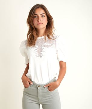 Picture of DIANE LACE T-SHIRT