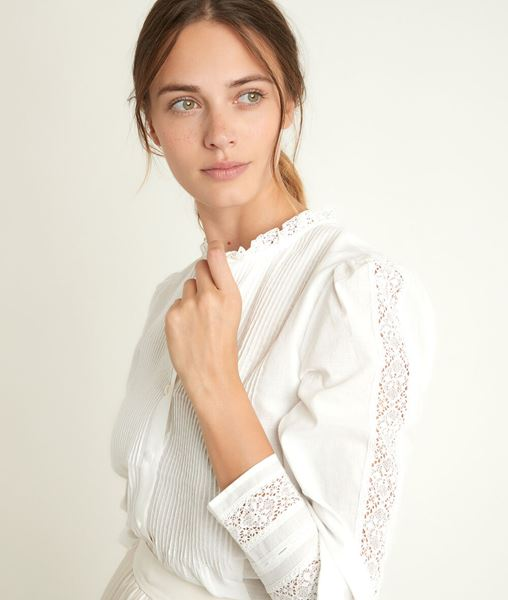 Picture of JENA LACE BLOUSE