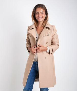 Picture of ORMA CAMEL WOOL COAT