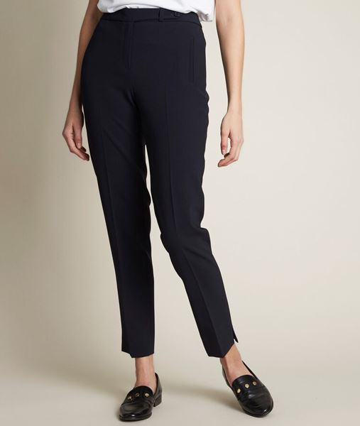 Picture of LARA MICROFIBRE CIGARETTE TROUSERS