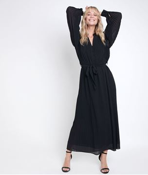 Picture of CATARINA PLEATED MAXI DRESS
