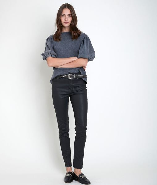 Picture of SULTAN, THE ICONIC SLIM-FIT COATED JEANS