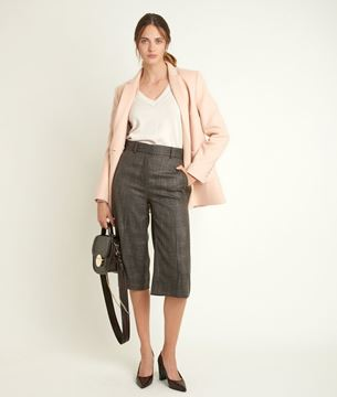 Picture of MONICA CHECKED CULOTTES