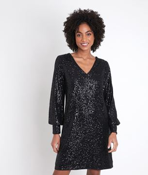 Picture of CHARME SEQUINNED DRESS