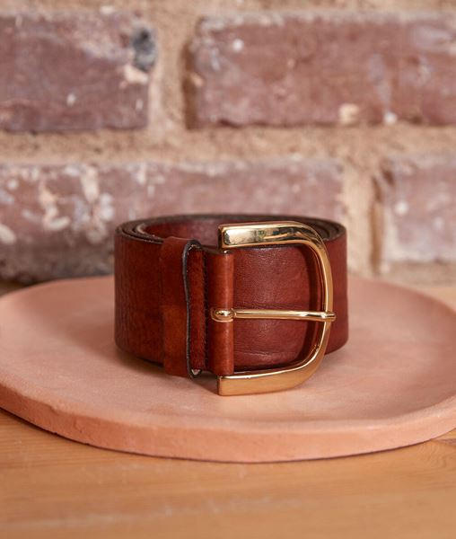 Picture of ESTELLE WIDE LEATHER BELT