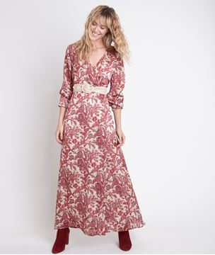 Picture of CATHEL PRINTED MAXI BOHO DRESS