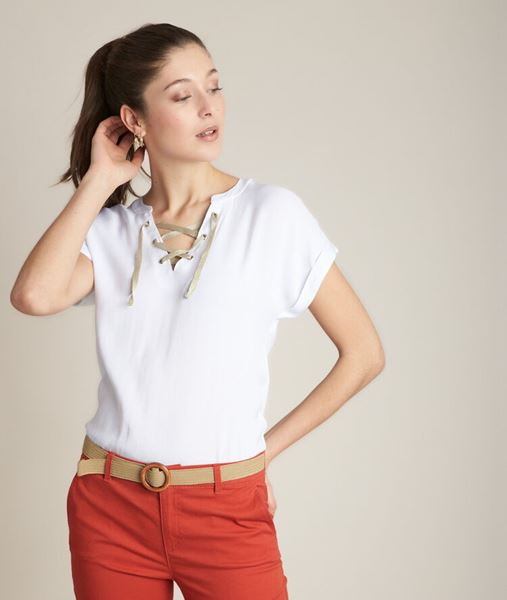 Picture of REEME WHITE T-SHIRT