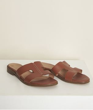 Picture of JESSICA LEATHER MULES