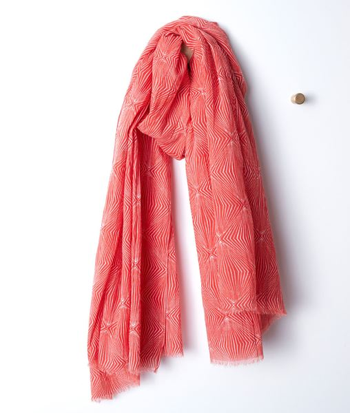 Picture of BETH PRINTED COTTON SCARF