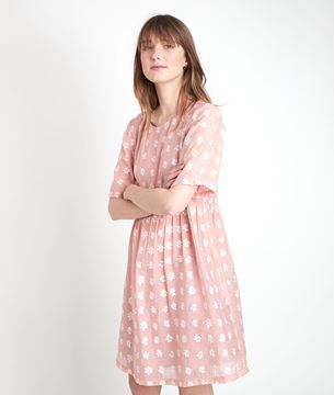 Picture of CHAIMA EMBROIDERED PINK DRESS