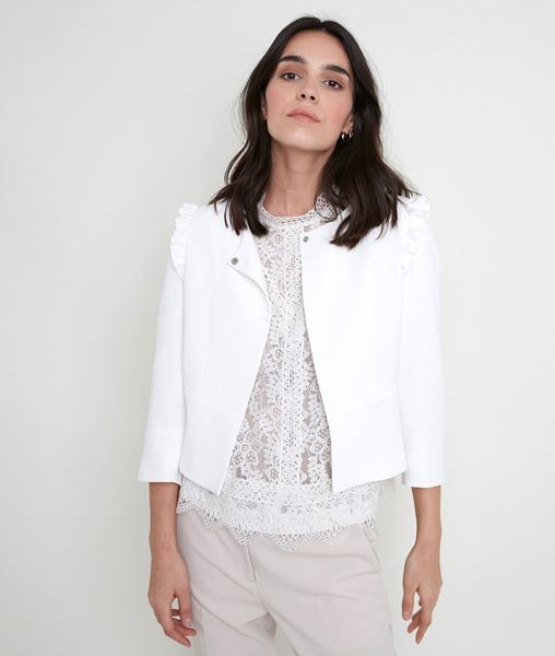 Picture of PHILISE CREAM CREPE JACKET
