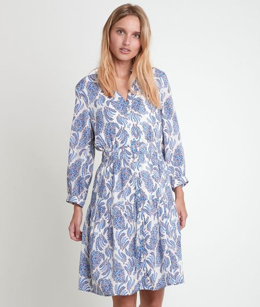Picture of LOVELY FORGET-ME-NOT PRINTED DRESS