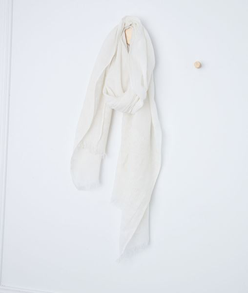 Picture of BROOKLYN BEIGE ORGANIC COTTON SCARF
