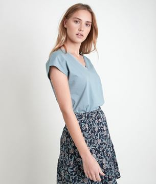 Picture of IBIS CELADON V-NECK T-SHIRT