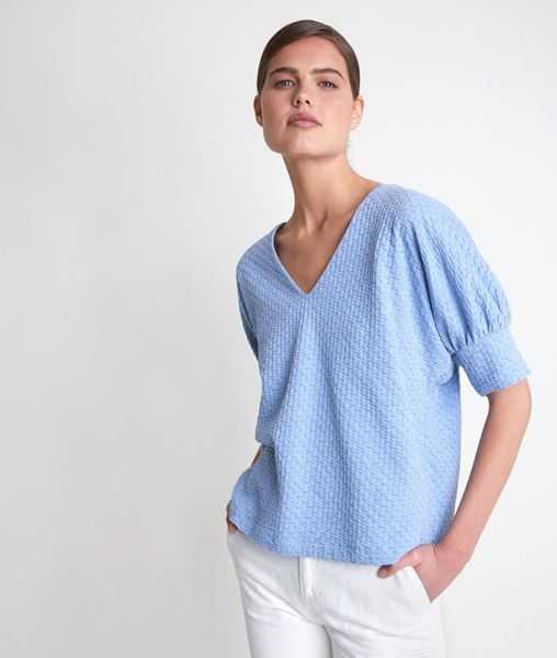 Picture of IDOUCEUR SKY BLUE T-SHIRT