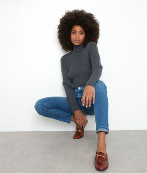 Picture of THILO ANTHRACITE GREY WOOL BODYSUIT